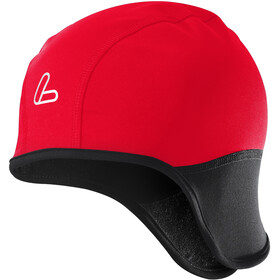 Löffler Cycling cap WS Softshell Warm, red